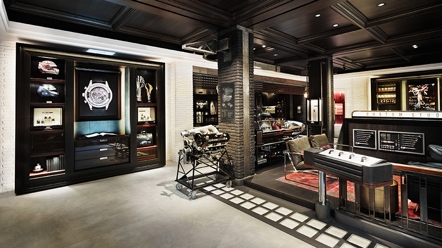 Interior view IWC Boutique