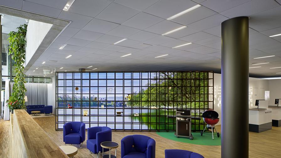 Interior view MyNAB Shop