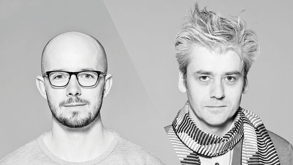 Portrait of Martin Kovacovsky and Valentin Spiess