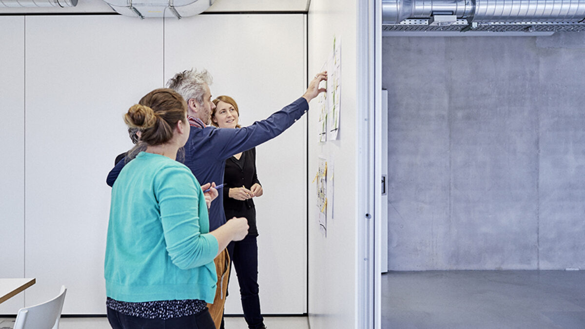 iart team members during workshop
