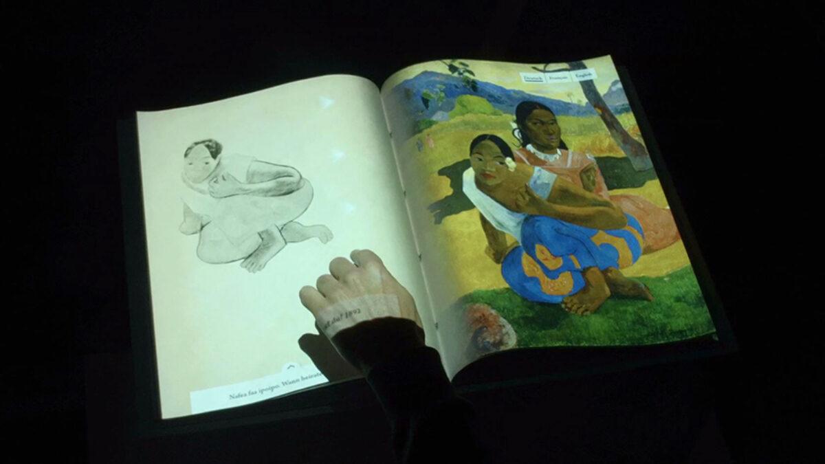 Interactive book on Paul Gauguin