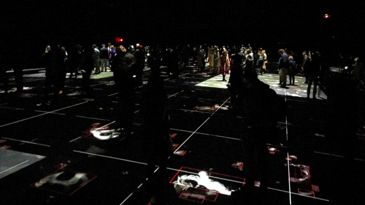 media installation Hansel & Gretel at Armory in New York