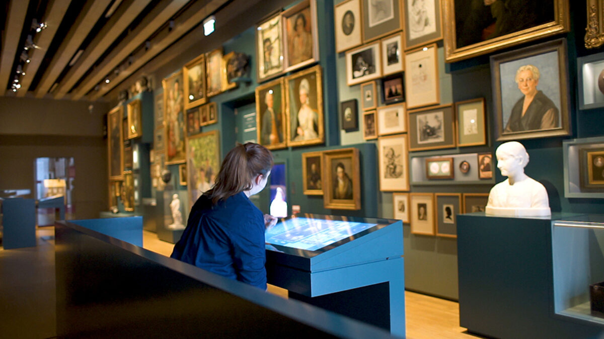 Visitor at Historisches Museum Frankfurt