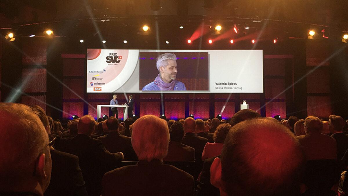award ceremony Prix SVC