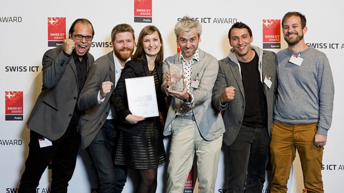 Winners Swiss ICT Award 2014