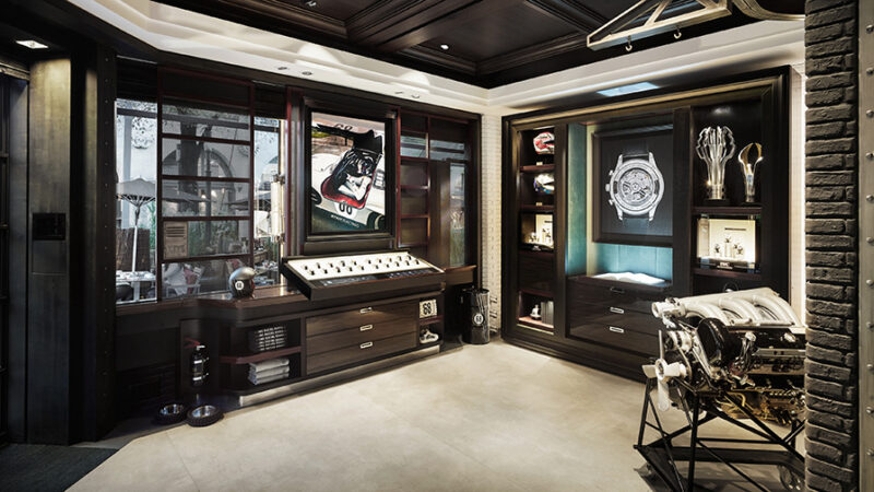 Interior view IWC Boutique