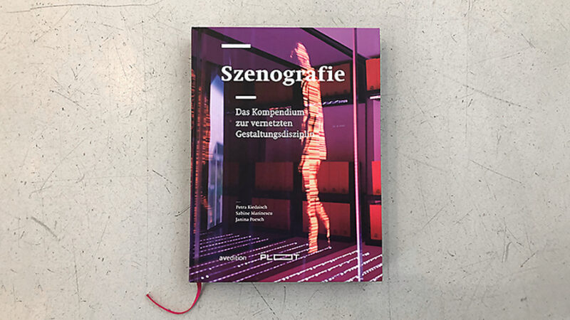 Cover book scenography compendium