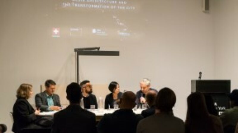 panel discussion Archtober