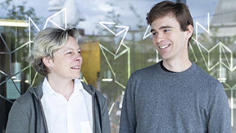 Barbara Naegelin und Lukas Tschümperlin