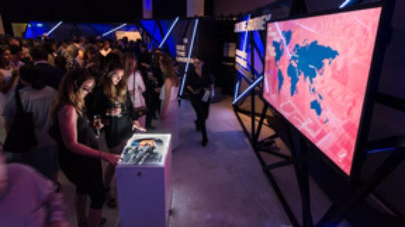 media installation BMW Art Journey