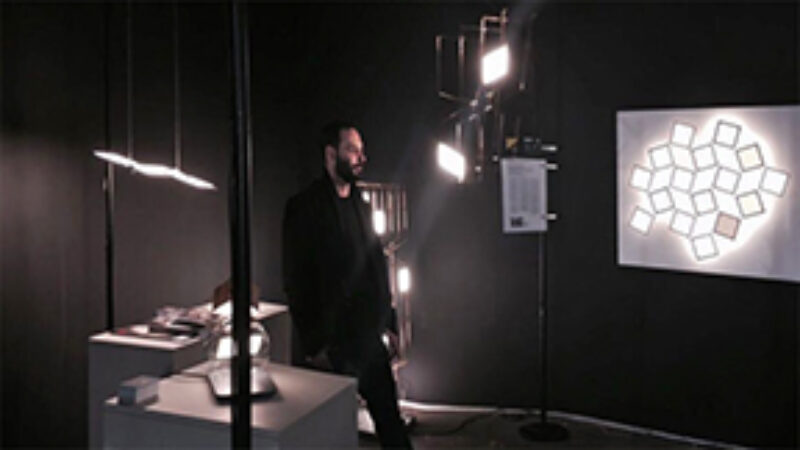 flokk luminaires at Swissbau