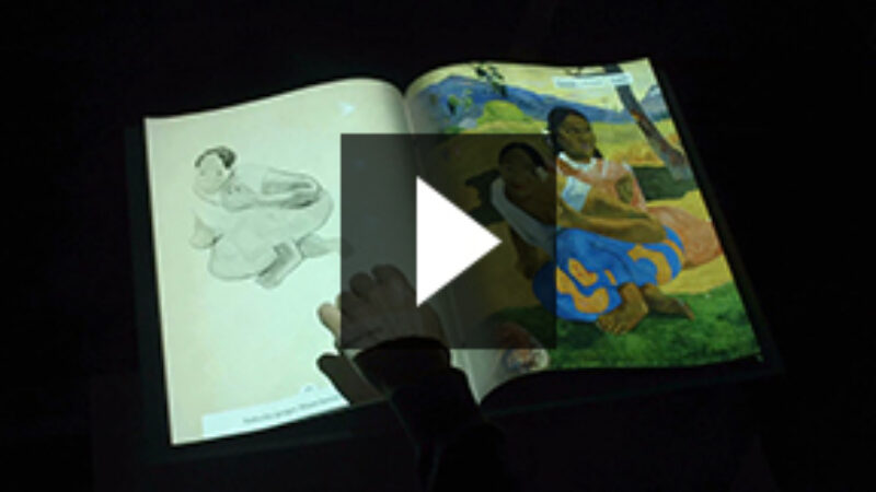 Video Still interactive book