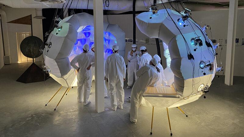 Geoscope Installation at the Venice Biennale 2021