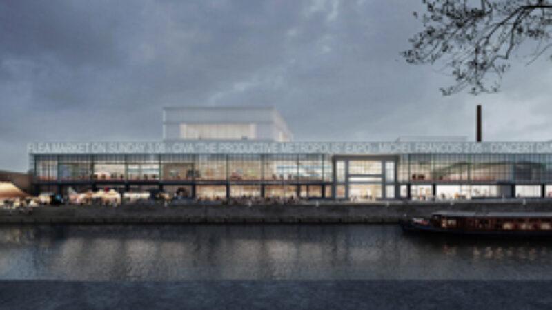 Rendering Kanal Centre Pompidou