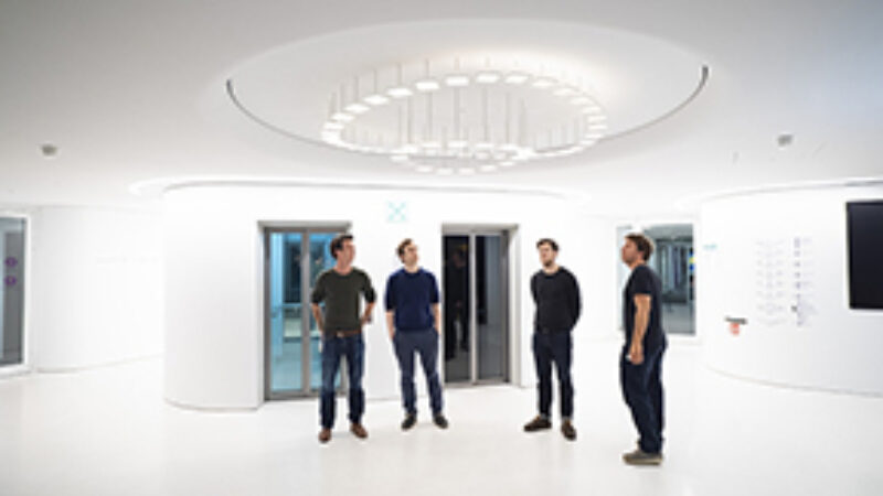 Merck interactive OLED installation