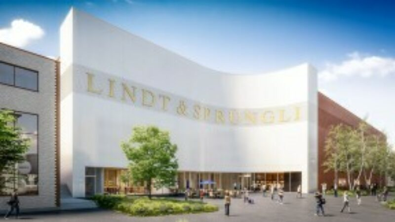 Rendering Lindt Chocolate Competence Center