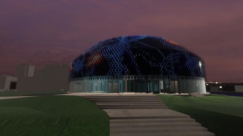 Novartis pavillon simulation