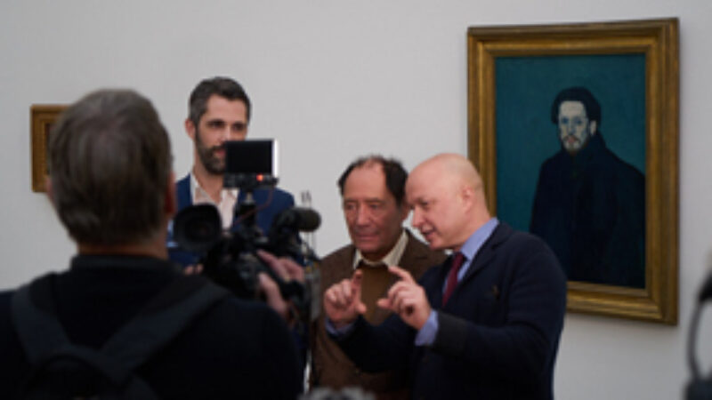 opening of the Picasso exhibition