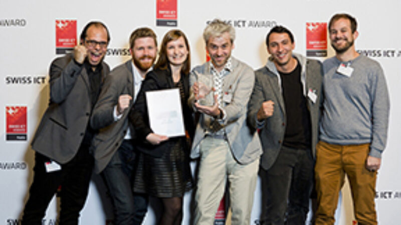 Winners Swiss ICT Award 2014