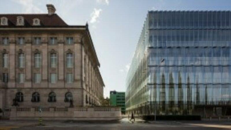 Swiss Re Next building