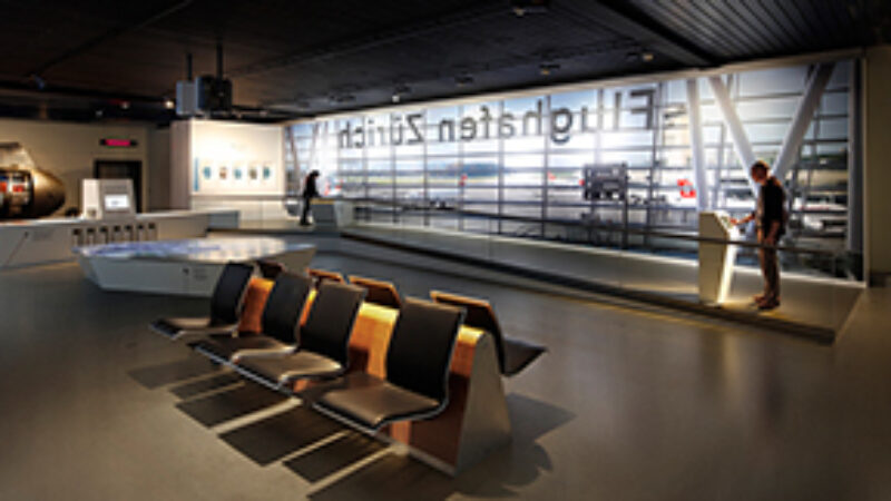 exhibition at the Swiss Transport Museum