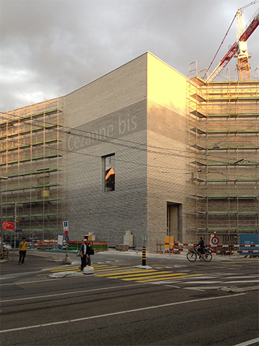new building of the Kunstmuseum Basel