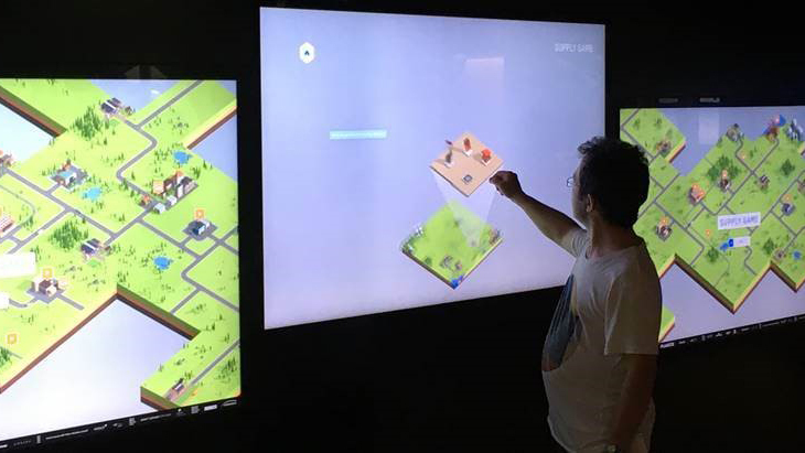 Interactive Game at the Swiss Museum of Transport