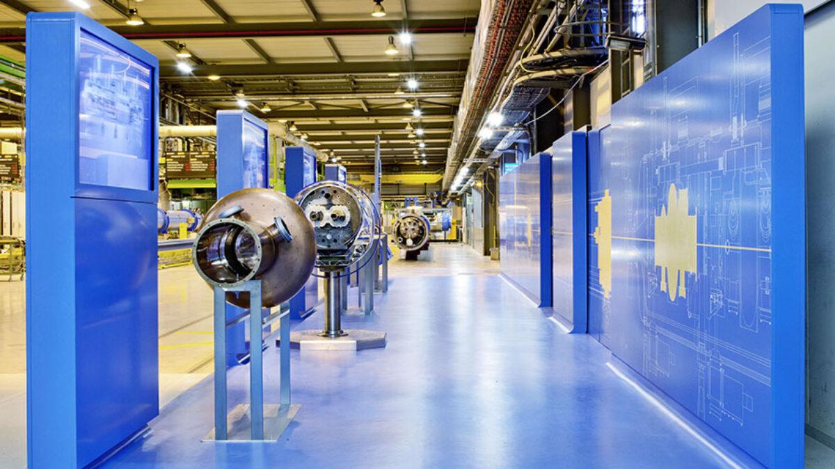 CERN Visit Point Hall