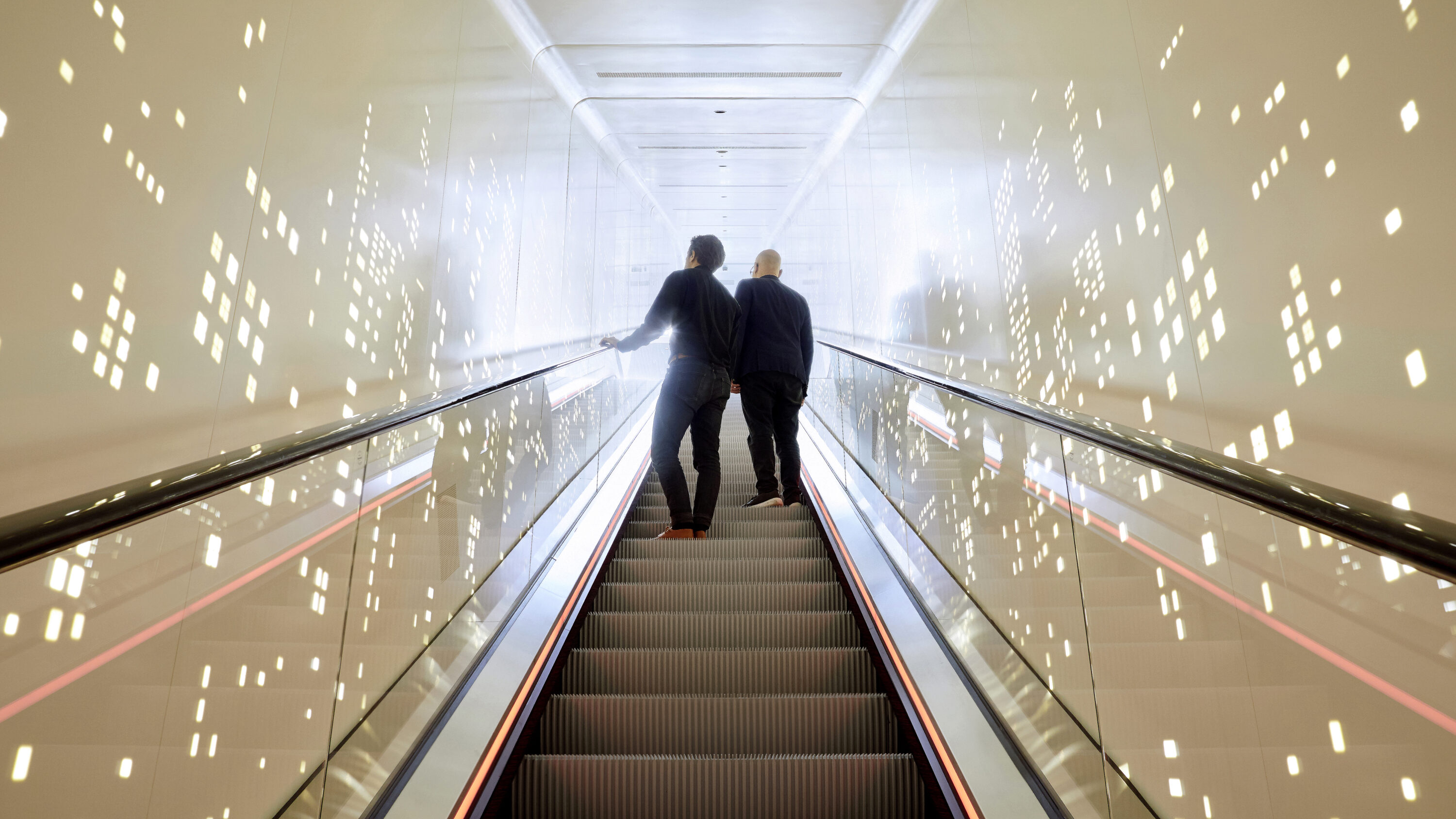 Schindler City Center Escalator Experience Visitors
