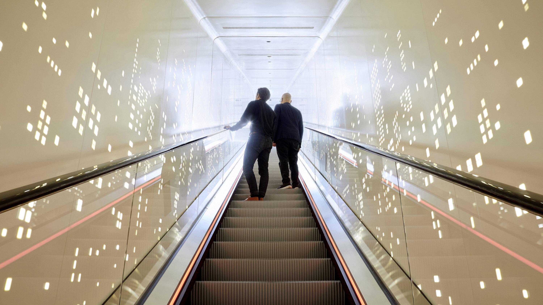 Schindler City Center Escalator Experience Visitors