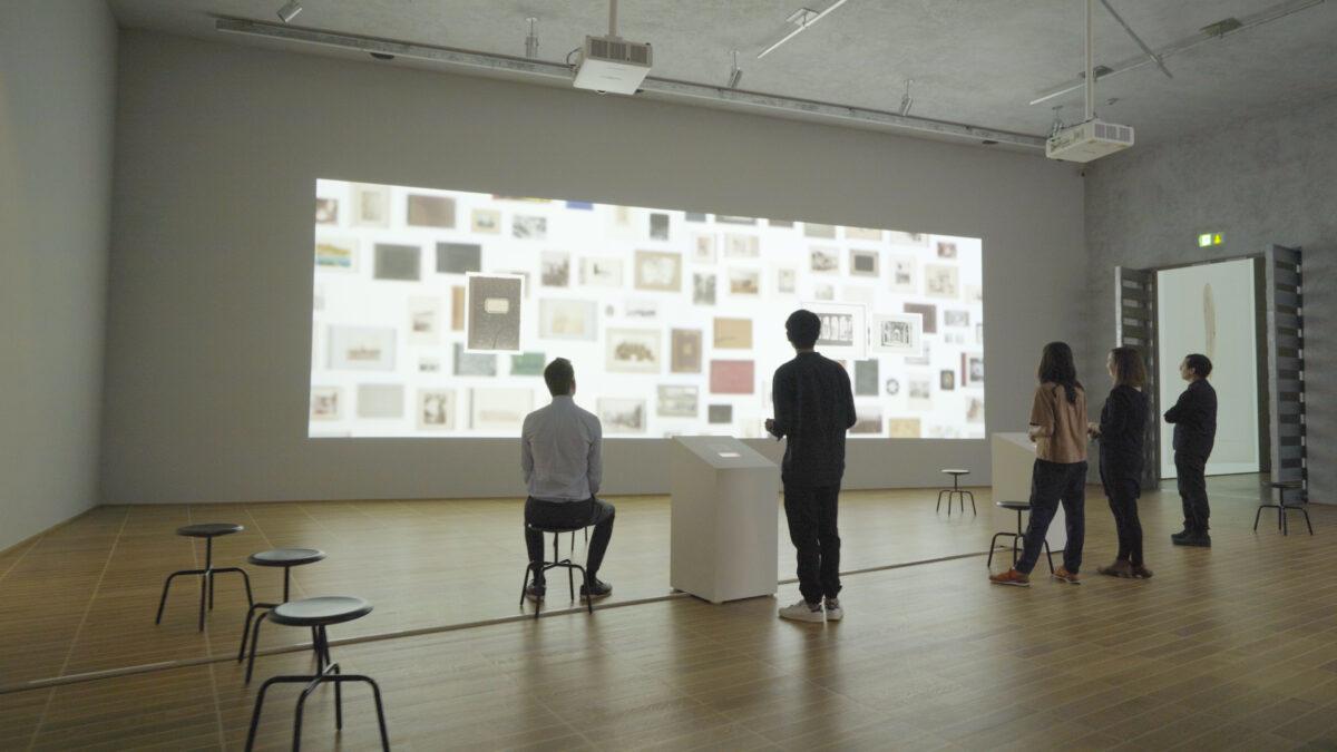 Kunstmuseum Basel Fotosammlung Herzog KI-Installation Ai-Installation Projektion