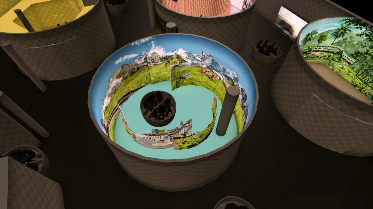Swiss Chocolate Adventure Verkehrshaus Real Time 3D-Simulation