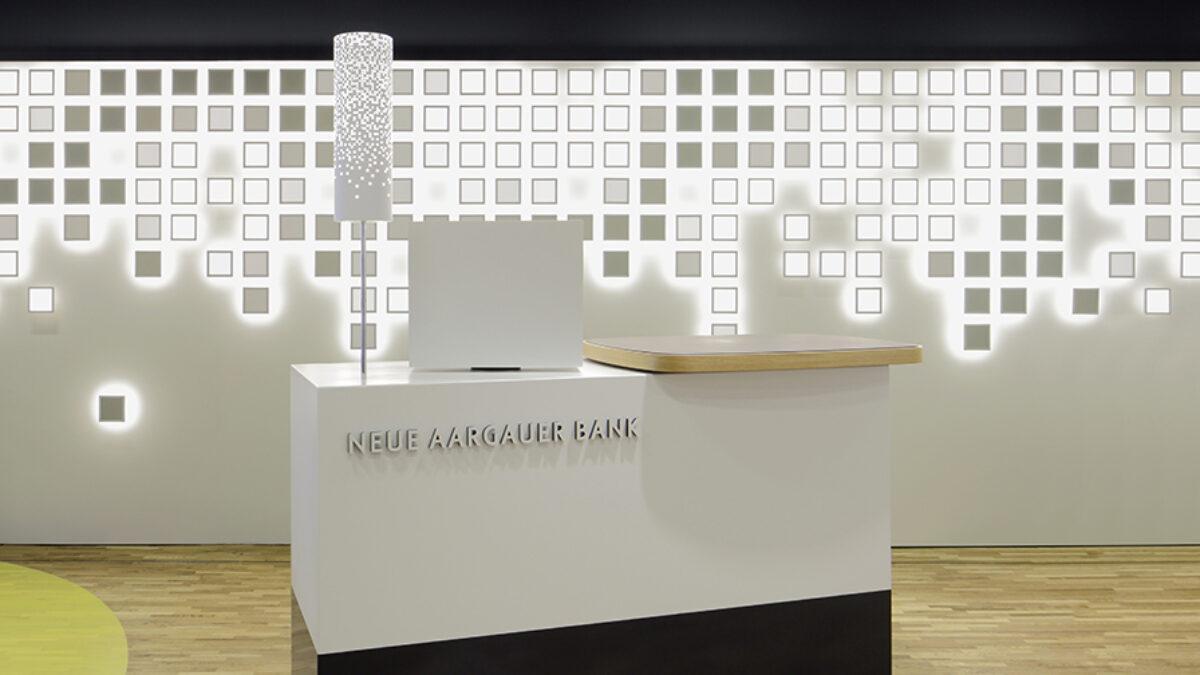MyNAB Shop Shoppi Tivoli Interactive OLED-Installation